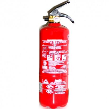 *Extintor De Polvo De 2 kg.