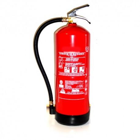Extintor De Polvo De 6 kg.