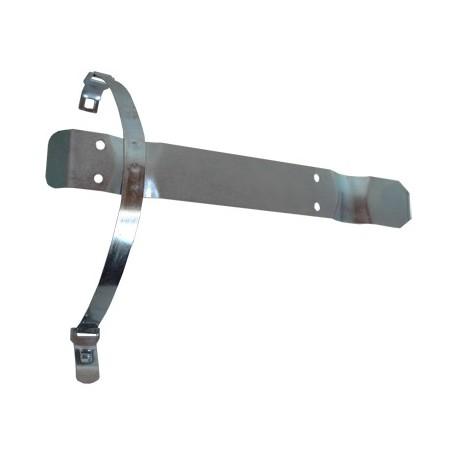Soporte Metálico De Fleje Para Instalar En Vehículo 1 Extintor De Polvo De 3 kg.