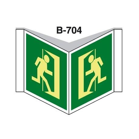 Placa Con Solapa B-704