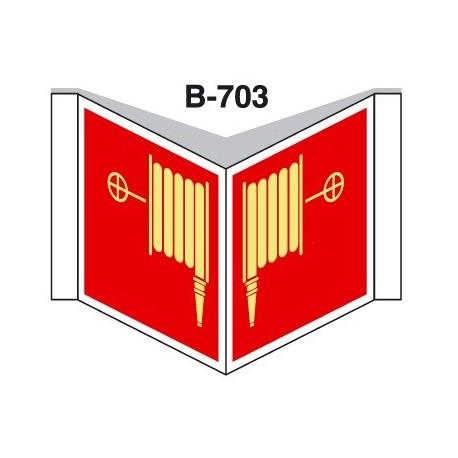 Placa Con Solapa B-703