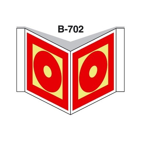 Placa Con Solapa B-702