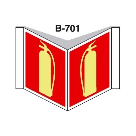 Placa Con Solapa B-701
