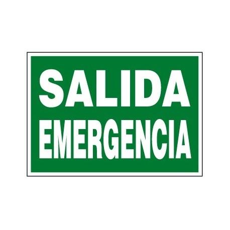 Placa De Emergencia E-316