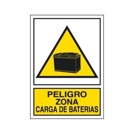 Placa De Aviso De Peligro A-324