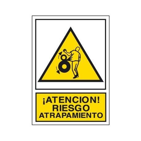Placa De Aviso De Peligro A-244