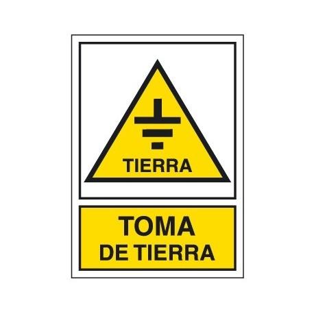 Placa De Aviso De Peligro A-218