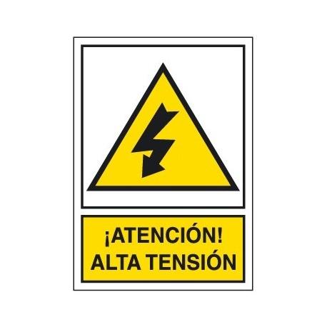 Placa De Aviso De Peligro A-208