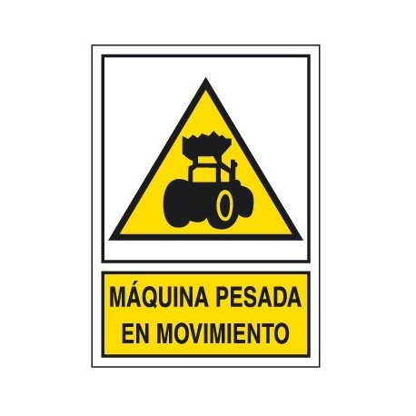 Placa De Aviso De Peligro A-204