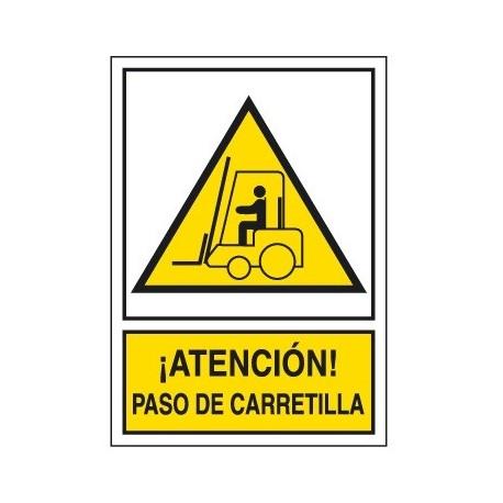 Placa De Aviso De Peligro A-203