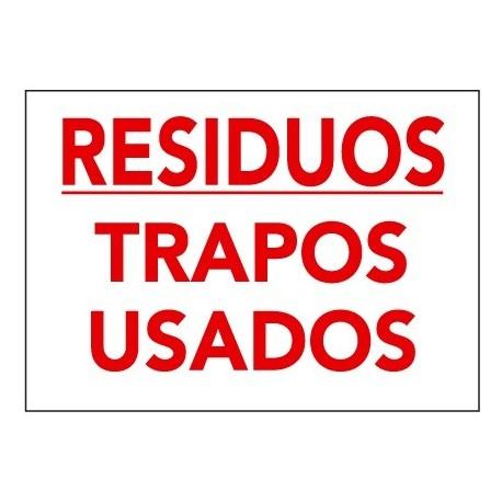Placa De Señalización De Residuos R-012