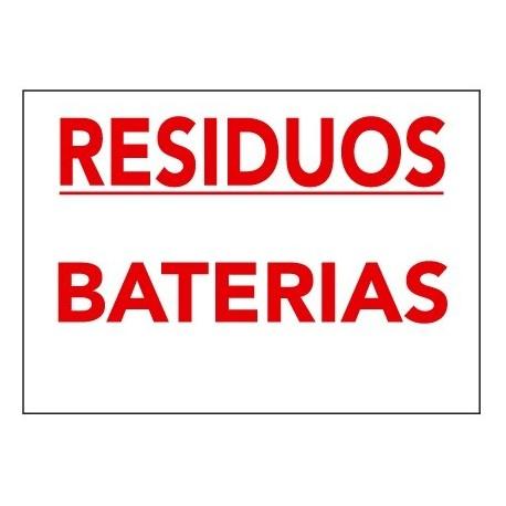 Placa De Señalización De Residuos R-015