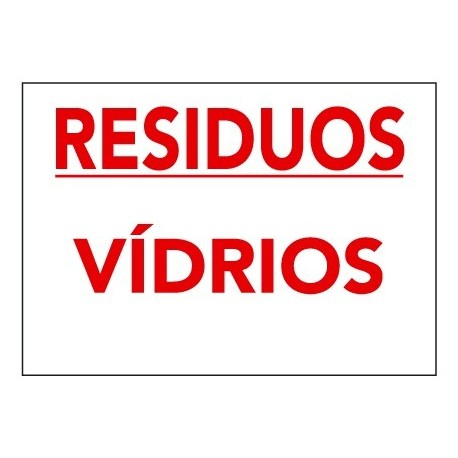Placa De Señalización De Residuos R-017