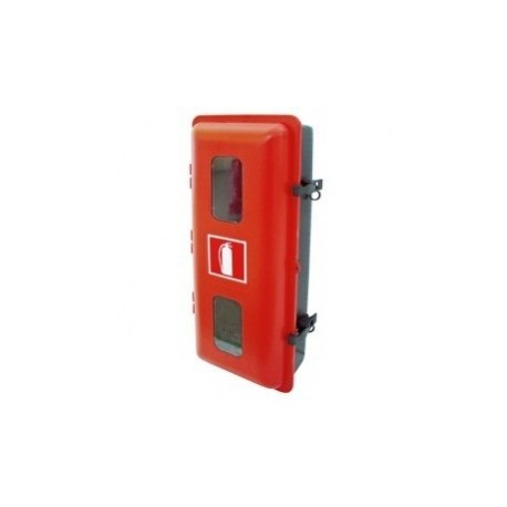 Armario De PVC-ABS Termoconformado Para Extintor 12 Kg Polvo ó 5 Kg CO2