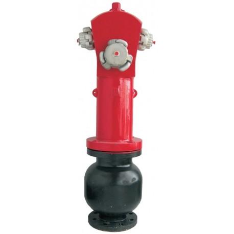 """Hidrante De Columna Seca De 3"""" Con 1 Salida De 70 mm. + 2 Salidas De 45 mm."""