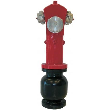 """Hidrante De Columna Seca De 4"""" Con 1 Salida De 100 mm. + 2 Salidas De 70 mm."""
