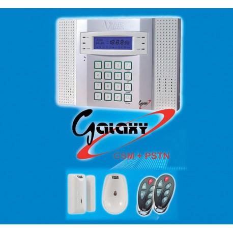 Kit Central De Alarmas Galaxy Central + PIR + CM (GSM)