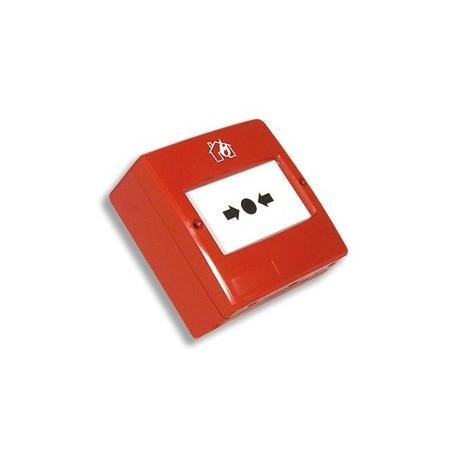 Pulsador De Alarma Convencional Rearmable