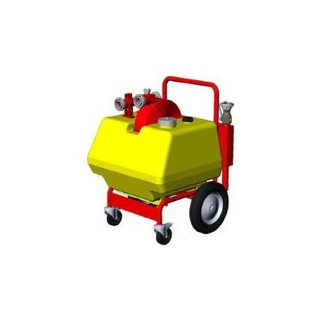 Carro portatil generador de espuma