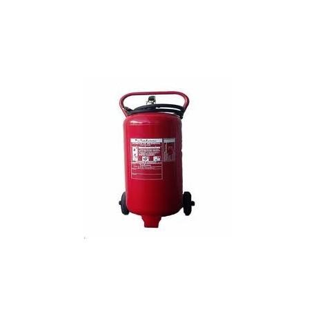 Extintor De Polvo De 50 kg. Sobre Ruedas