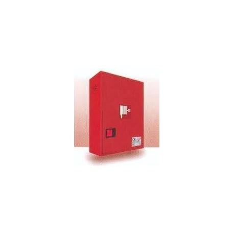 Bie de 25mm con puerta ciega roja