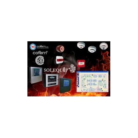 Oferta kit de deteccion de incendios