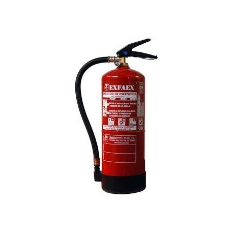 Extintor de 6kg polvo para GLP