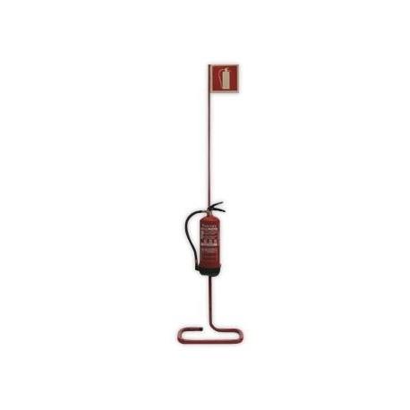 Soporte De Suelo Para Extintor De 3, 6, 9 Kg Polvo Y 2, 5 Kg Co2