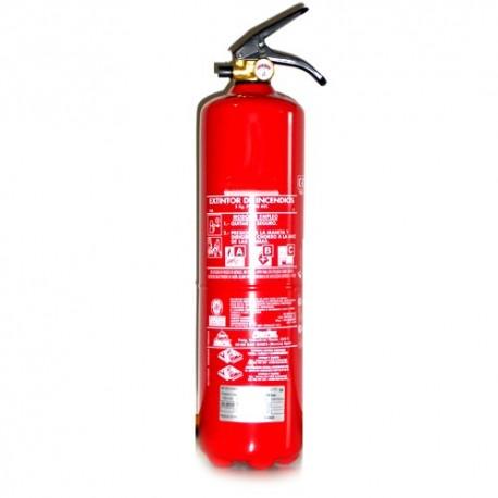 *Extintor De Polvo De 3 kg.