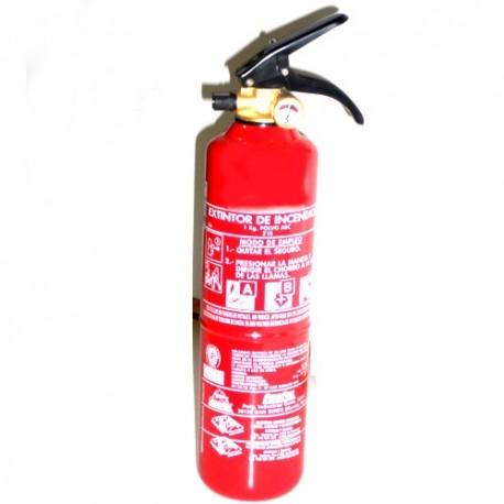 *Extintor De Polvo De 1 kg.
